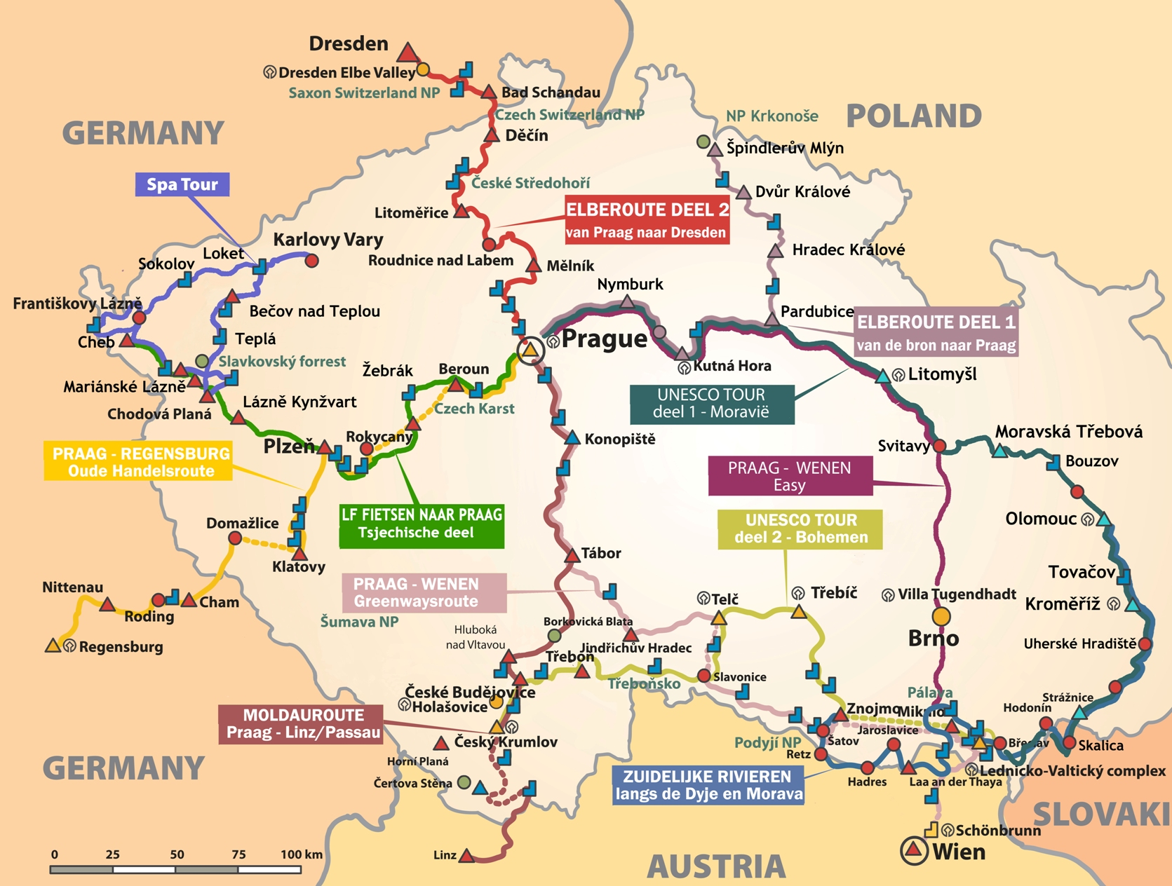 Fietsroutes-Tsjechië-Mozaïek-Reizen