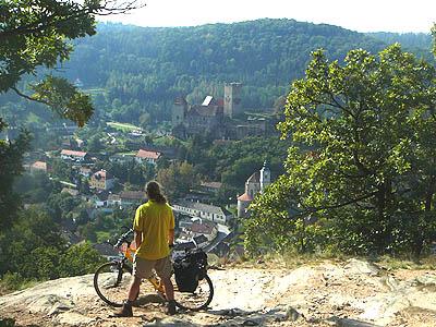 Rutger bij Hardegg, Praag - Wenen Greenways fietsroute