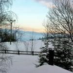 skivakantie Tsjechië. vakantiehuis Reuzengebergte, uitzicht op de hoogste toppen.