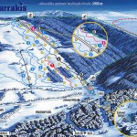 Plattegrond skigebied Arrakis, Prkenny Dul, Reuzengebergte, Zacler