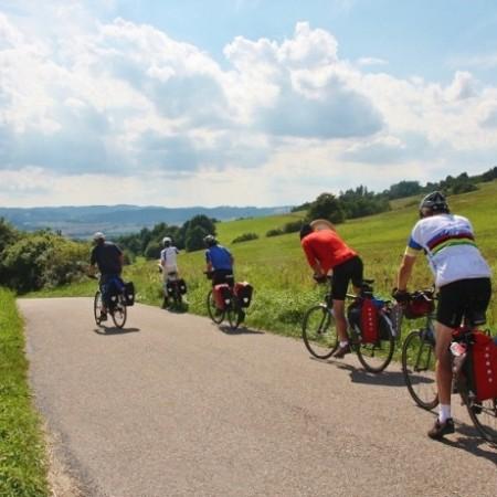 Greenwaysroute van Praag naar Wenen - traject