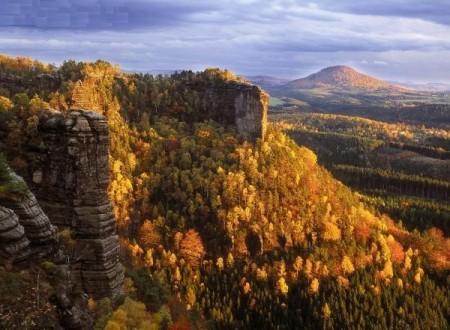 Herfst in Tsjechisch Zwiterland, Tsjechië. Foto: Zdenek Patzeld