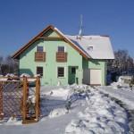 wzb352, familiehuis op 6 km van skigebied Lipno/Kramolin, tot 12 pers.