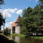 Praag - Regensburg fietsroute, kasteel Svihov