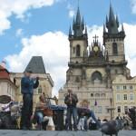 Dixieland band in Praag