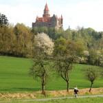 Fietsen in Moravië - kasteel Bouzov
