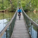 Fietsen langs rivieren Tsjechië
