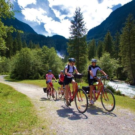 Tauernroute fietsen met kinderen