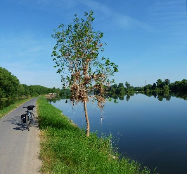 Praag - Dresden fietsroute