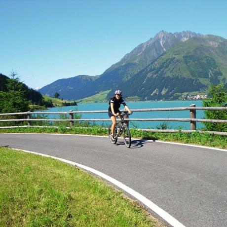 Etschroute of Etschradweg
