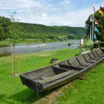 Fietsen langs de Weser
