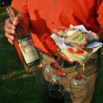 Fietsen langs de Mur - heerlijke wijn en lekker eten