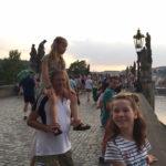 Elbebron - Praag fietsen met gezin - met dank aan Fam. Wassenaer
