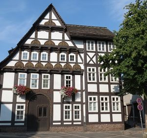 Höxter - Fietsroute Weser