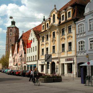 Ingolstadt binnenstad - fietsen langs de Duitse Donau