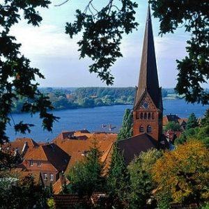 Lauenburg - fietsen Elberadweg Noordzee