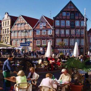 Stade - Fietsen langs de Elbe naar de Noordzee