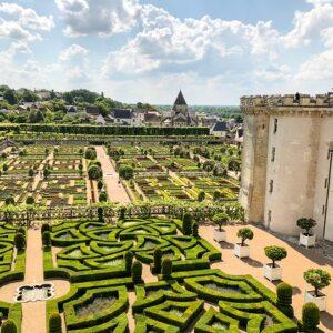 Kasteeltuin - fietsen langs de Loire - kastelenroute