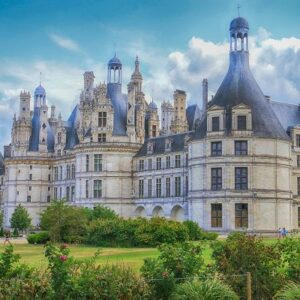 Kasteel Chambord - fietsvakantie Loire - kastelenroute