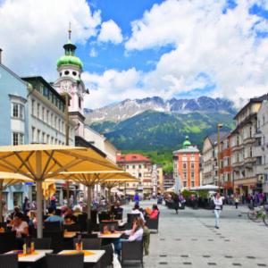Innsbruck - Fietsen langs de Inn