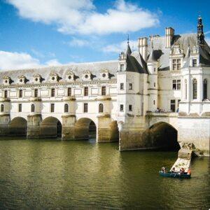 chateau chenonceau - fietsen langs de Loire