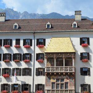 Goldenes Dachl Innsbruck - Fietsen langs de Inn - Innradweg