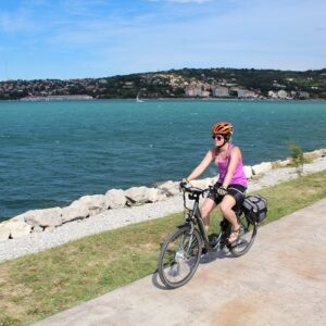 Fietsen langs de kust van Istrië