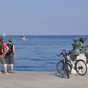 Fietsvakantie kust Istrië Kroatië