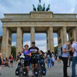 Berlijn Brandenburger Tor - fietsen van Dresden naar Berlijn -