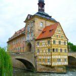 Bamberg rathaus - fietsen Main