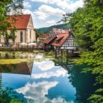 Blaubeuren - fietsvakantie Donau-Radwegd