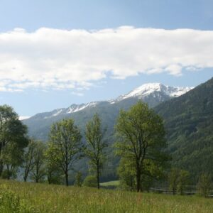 Bergpanorama - Fietsroute Alpe Adria
