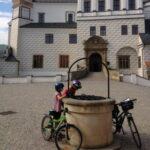 Pardubice - fietsen met kinderen Elberoute bron - Praag