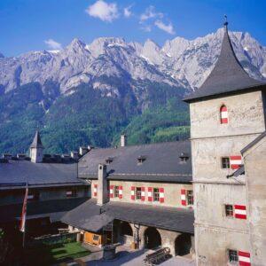 Festung Hohenwerfen Alpen