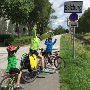 Fietsen Oostenrijk Kinderen Tauernradweg - Salzburg