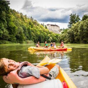 Kanoën - Actieve vakantie Tsjechië