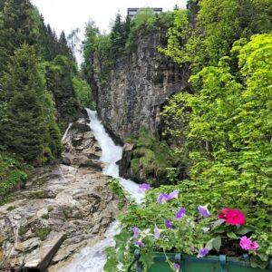 Gasteiner Wasserfall - Fietsvakantie Alpe Adria Radweg