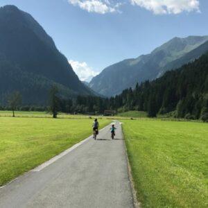 Fietsen met kinderen in de Alpen - Tauern Oostenrijk