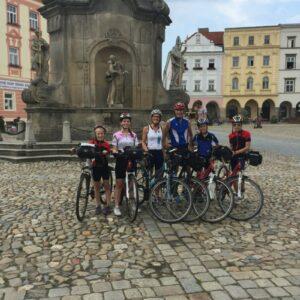 Fietsvakantie met kinderen Oostenrijk Tsjechië