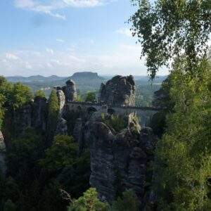 Bastei brug - Nationaal Park Saksische Schweiz