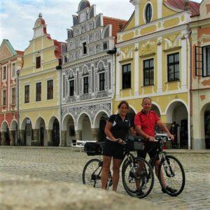 Telc - fietsen Praag - Wenen Greenways