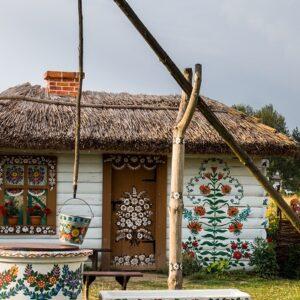 Zalipie - Fietsen door Polen