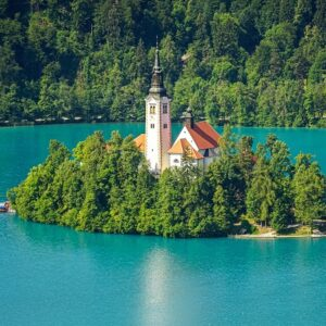 Bled - Fietsen van Lake Bled naar Piran