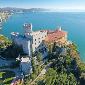 Castello di Duino Fietsen van Venetië naar Porec