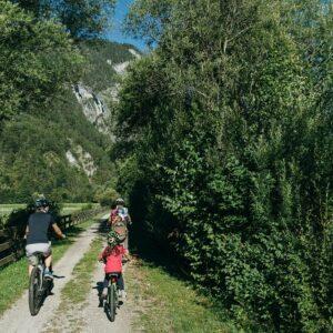 Fietsen met kinderen in Oostenrijk - Drauradweg