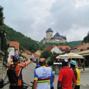 Karlstejn - City Bike Tour omgeving Praag