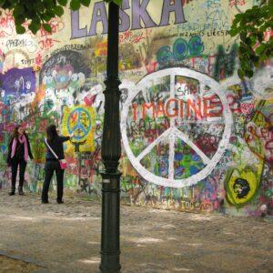 John Lennon Wall Praag