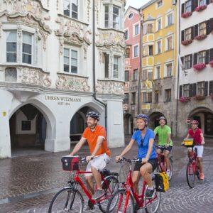 Innsbruck - Fietsen langs de Inn en Adige