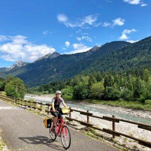 Fietsroute Alpe Adria van Salzburg naar Grado / Triëst