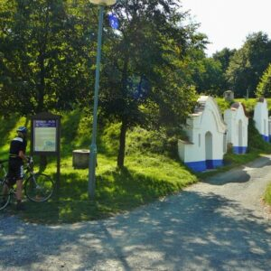 Petrov wijnkelders - fietsvakantie Zuid-Moravië